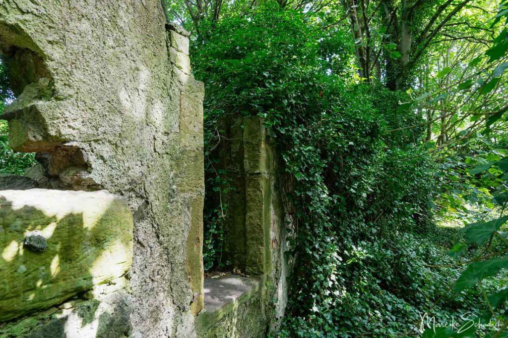Ruine der alten Farm von Cramond
