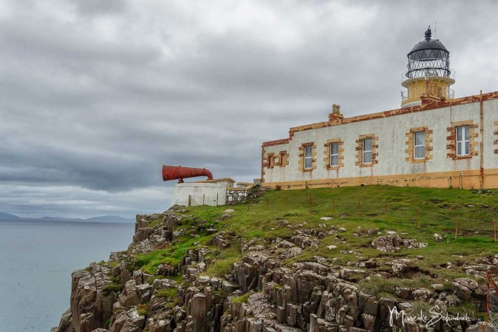 Neist Point auf der Isle of Skye –  Klippen mit Leuchtturm