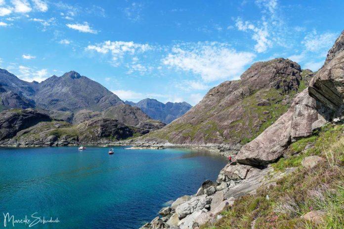 Das Herz der Cuillins und der Bad Step, Isle of Skye