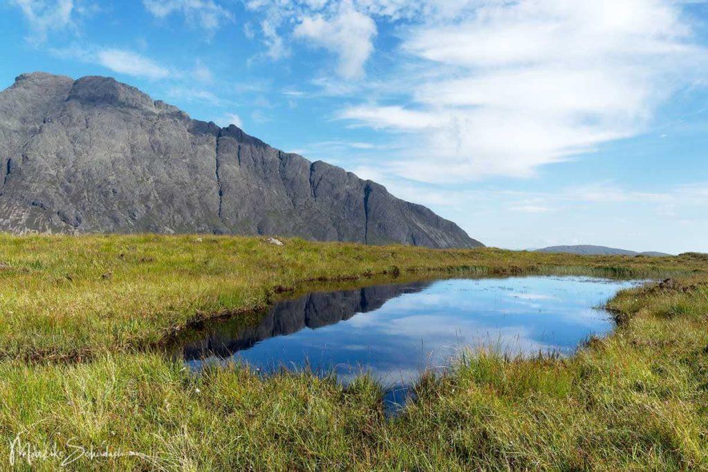 Wanderung im Herz der Cuillins und der Bad Step der Isle of Skye
