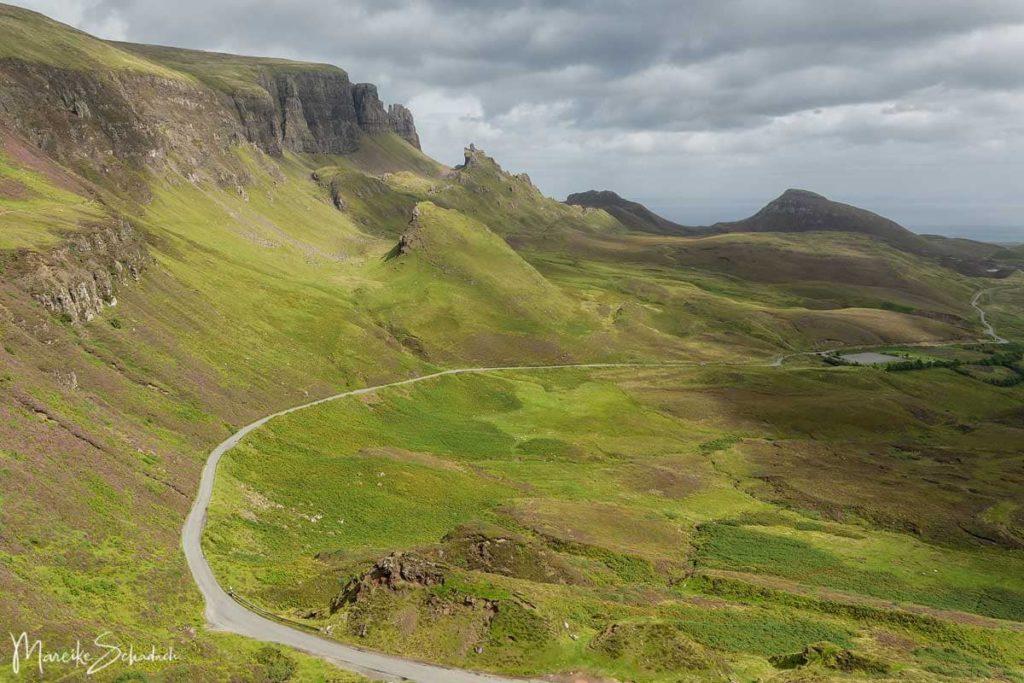 Isle of Skye Wanderungen - Quiraing