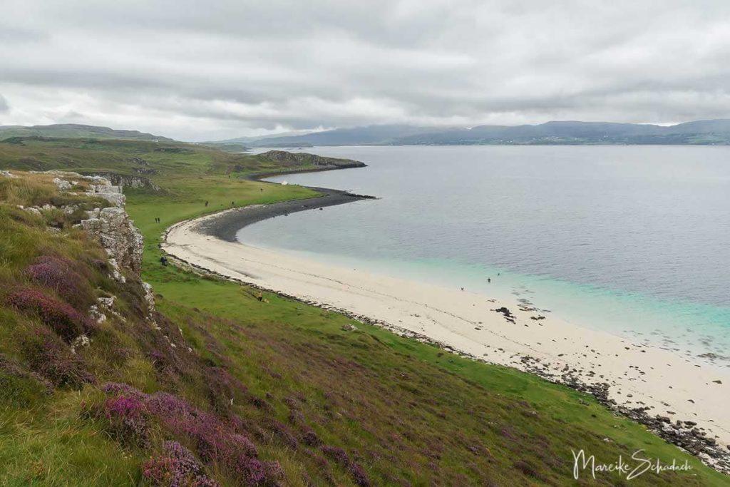 Isle of Skye Wanderungen - Korallenstrände von Claigan