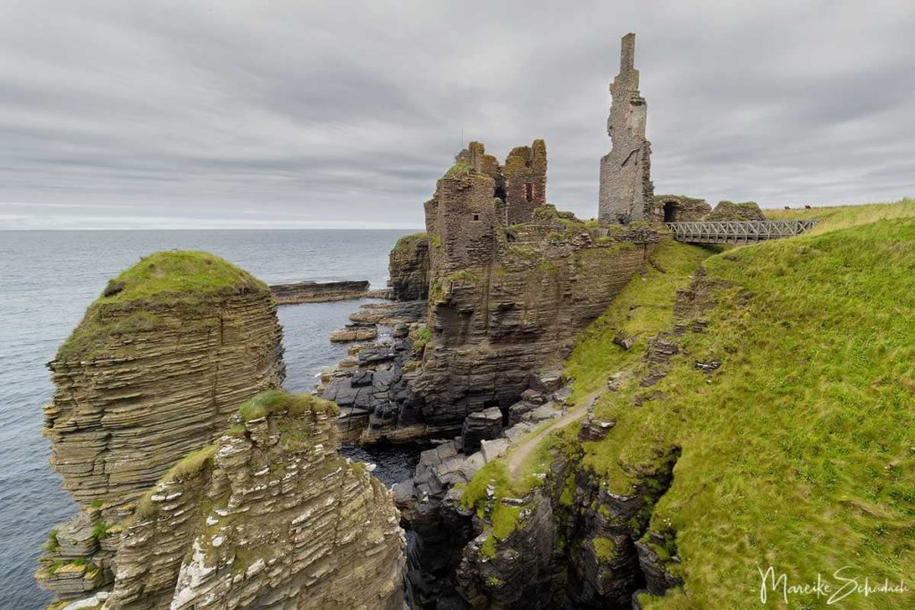 Sinclair Girnigoe Castle - North Coast 500 – Roadtrip in Schottland