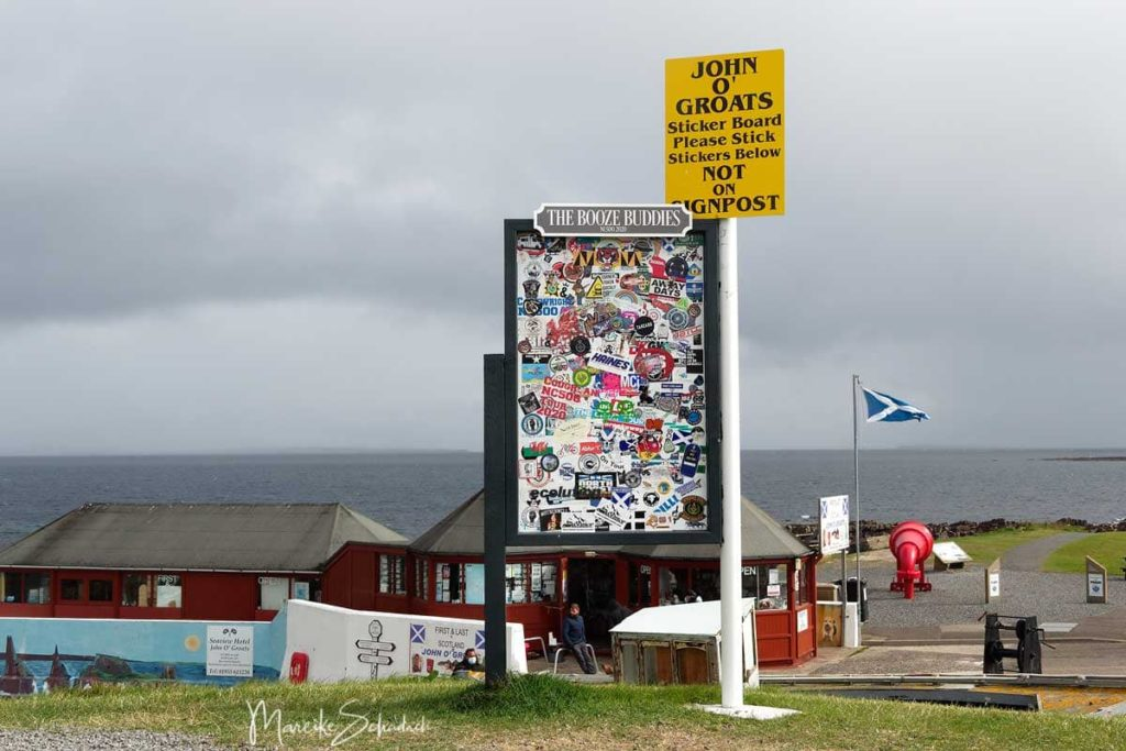 John O'Groats - North Coast 500 – Roadtrip in Schottland