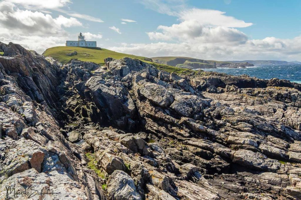 Strathy Point Leuchtturm - North Coast 500 – Roadtrip in Schottland
