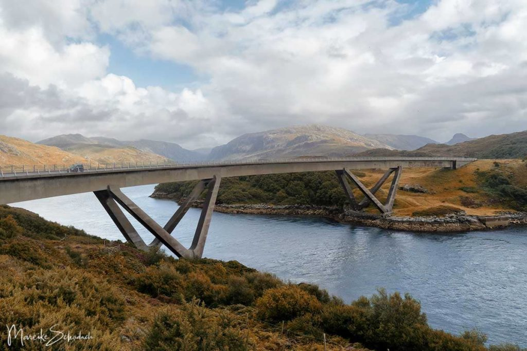 Kylesku Bridge - North Coast 500 – Roadtrip in Schottland