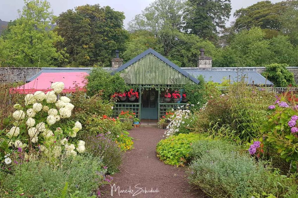 Walled garden Applecross - North Coast 500 – Roadtrip in Schottland