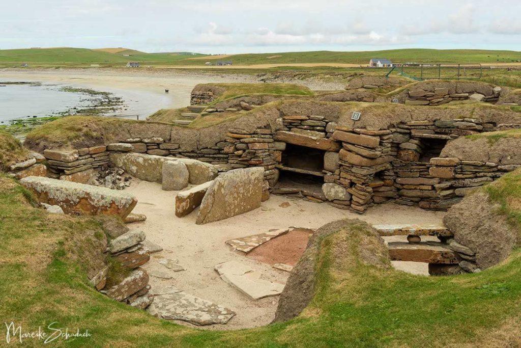 Sehenswertes Skara Brae auf einem Roadtrip über die Orkney Inseln