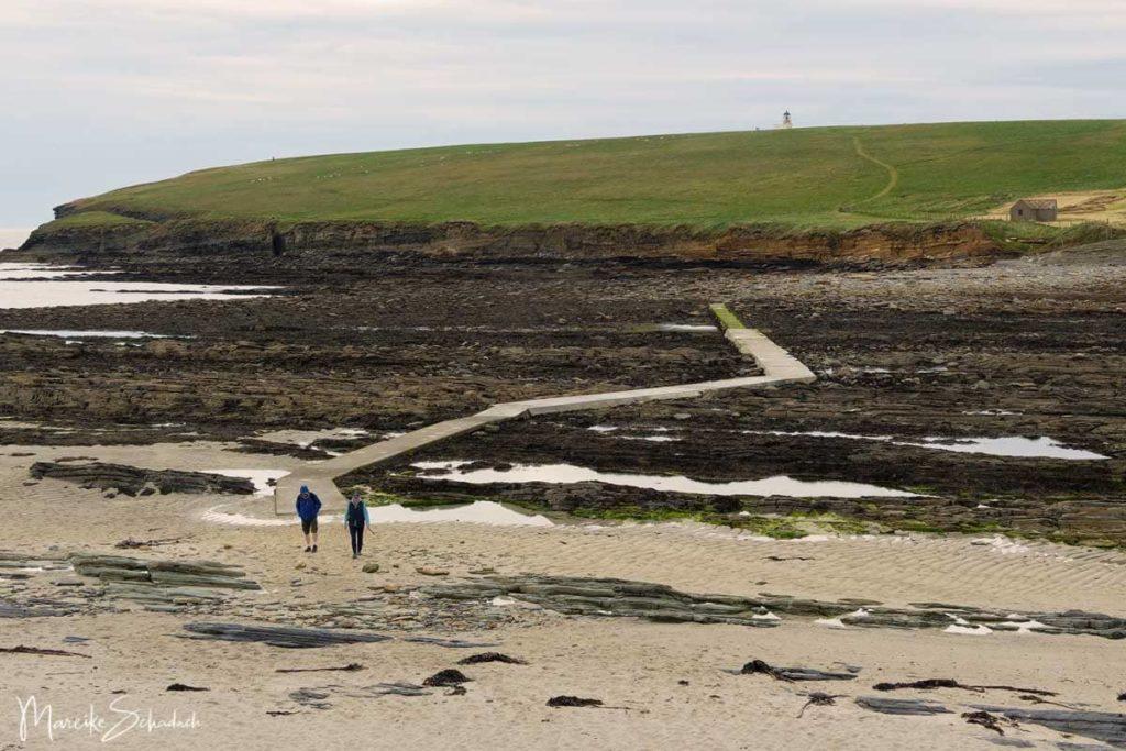 Sehenswertes Brough of Birsay auf einem Roadtrip über die Orkney Inseln
