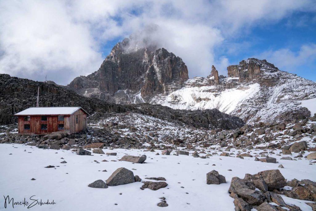 Mount Kenya - Chogoria-Sirimon Route zum Point Lenana - Austrian Hut