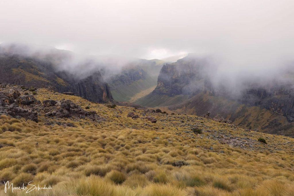 Mount Kenya Treckingtour Route Chogoria-Sirimon