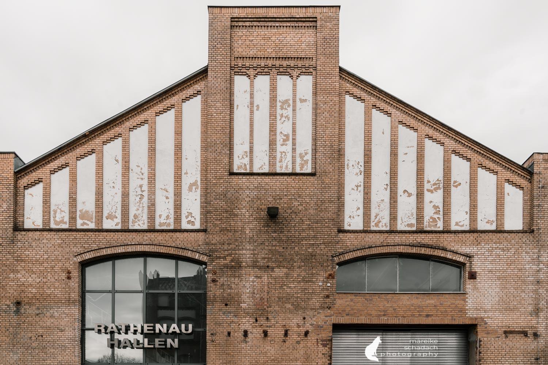 Fototour zur Industriearchitektur Schöneweide Berlin, hier die Rathenau Hallen