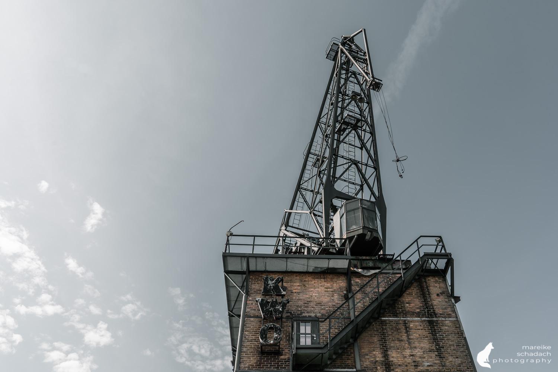 Fototour zur Industriearchitektur Schöneweide Berlin, hier das Kranhaus