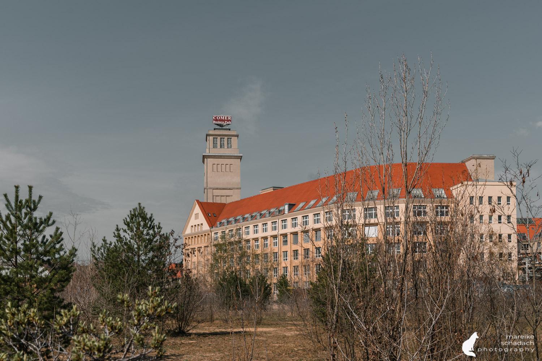 Fototour zur Industriearchitektur Schöneweide Berlin, hier der Peter-Behrens-Bau