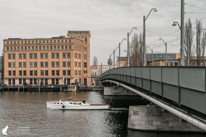 Fototour zur Industriearchitektur Schöneweide Berlin, hier die Leuchtenfabrik