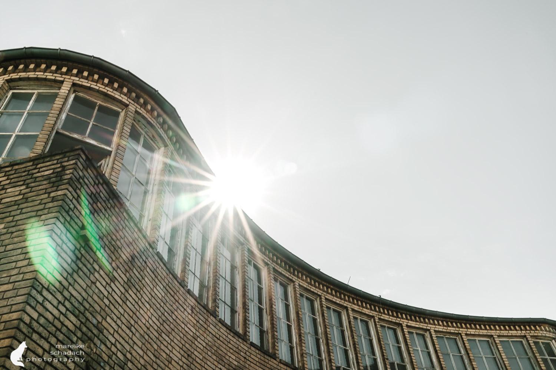 Fototour zur Industriearchitektur Schöneweide Berlin, hier die Schaltwarte des Kraftwerks