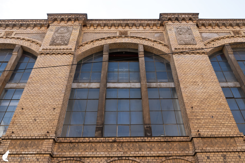Fototour zur Industriearchitektur Schöneweide Berlin, hier das Kraftwerk Oberschöneweide