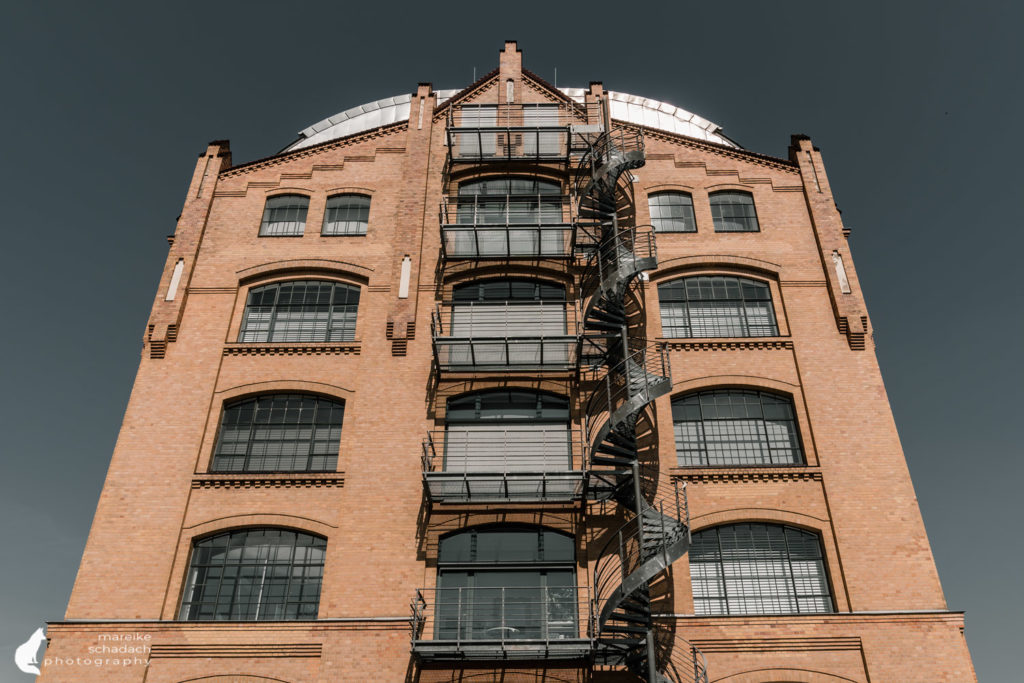 Fototour zur Industriearchitektur Schöneweide Berlin, hier das Kabelwerk KWO Oberschöneweide