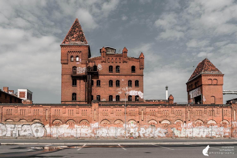 Fototour zur Industriearchitektur Schöneweide Berlin, hier die Bärenquell Brauerei