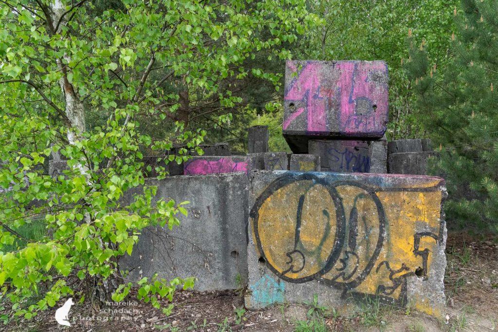 Schönower Heide Militär Relikte Bunker