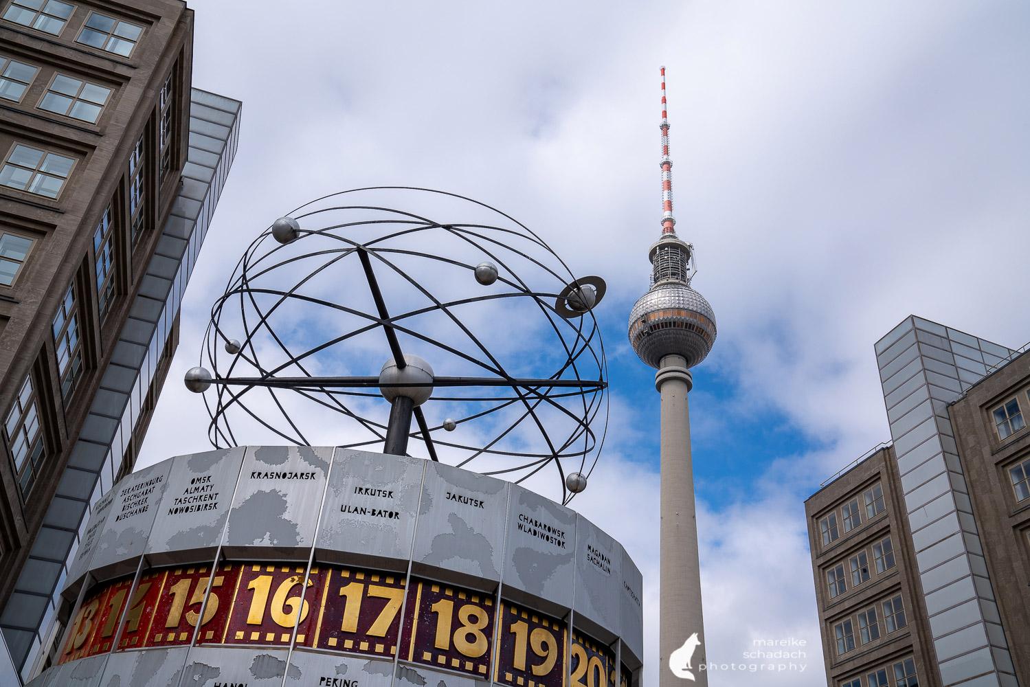 DDR-Architektur in Berlin: Fototour vom Alexanderplatz zum Frankfurter Tor