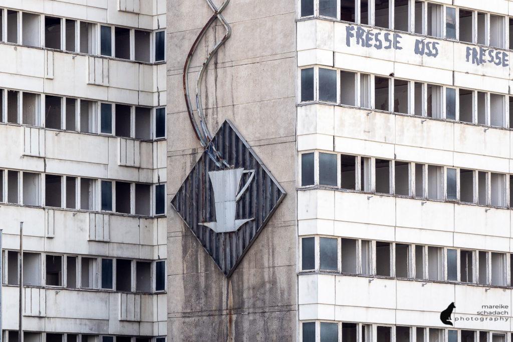 DDR Architektur in Berlin: Haus der Statistik am Alexanderplatz