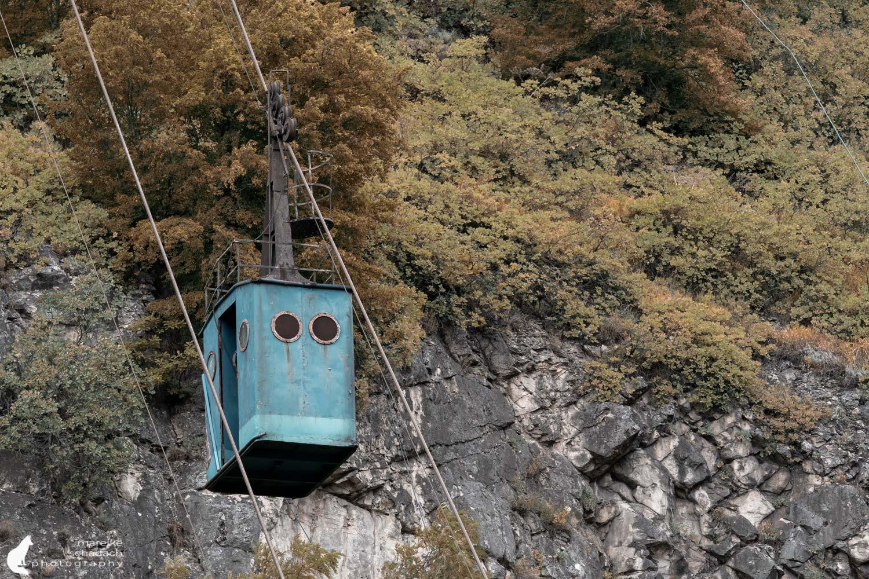Seilbahnen in Tschiatura - Friedensbahn