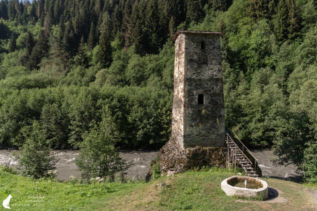 Tower of Love Wehrturm Swanetien