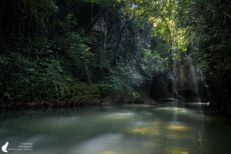 Martvili Canyon Georgien