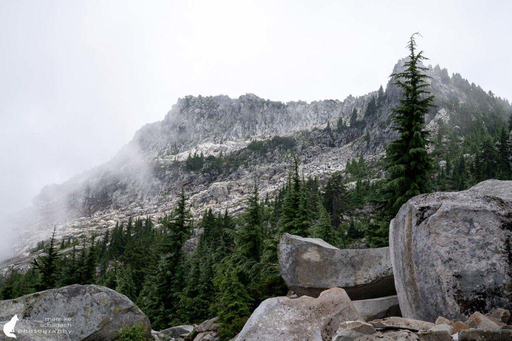 Hike zum Mount Pilchuck Fire Lookout, Washington State