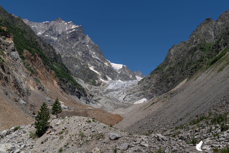 Chalaati Gletscher bei Mestia