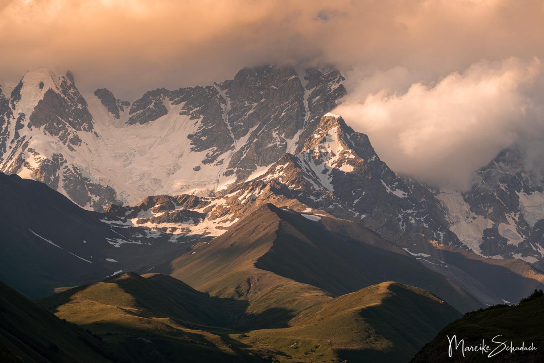 Mountains Ushguli Georgia