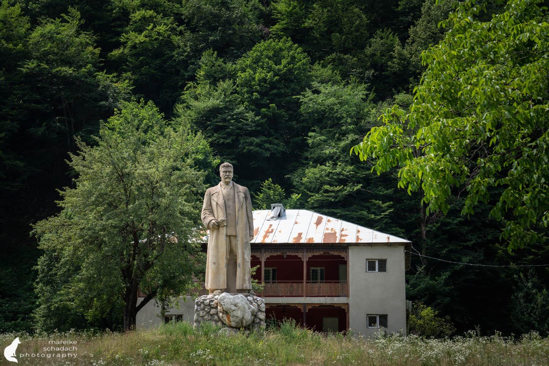 Stalin Statue Swanetien