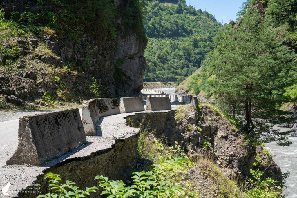Roads Svaneti Georgia