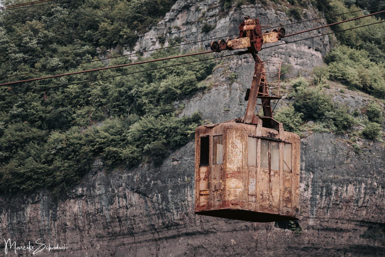Seilbahnen in Tschiatura - Stalinbahn